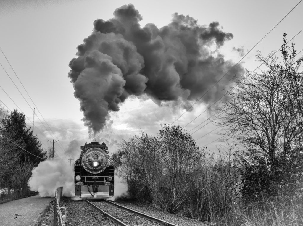 Holiday Express Train-head on by Johanna Froese Photography